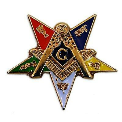 Masonic Exchange Order of the Eastern Star OES Lapel Pin