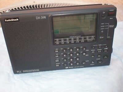 "Radio Shack Dx-398  Multiband Radio ""excellent Condition"""