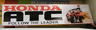 Large Honda ATC Dealer Promo Banner Three 3 Wheeler 250r 350x 200x ver 2
