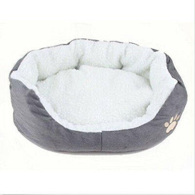 Round or Oval Shape Dimple Fleece Nesting Dog Cave Bed Pet Cat Bed for Cats New