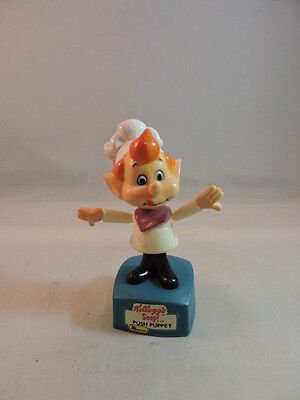 Vintage Kellogg's Snap! Push Puppet, works, good condition