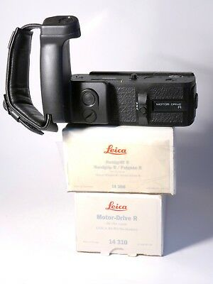 Leica Motor-Drive R with grip