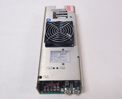 TODD MAX-703-0512AF POWER SUPPLY, 115/230VAC 15/7.5A 50/60Hz, TESTED