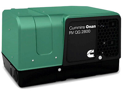 Cummins Onan 2.8HGJBB-1120A RV or Commercial Generator Quiet Gasoline QG 2800