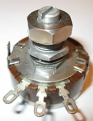 50K Ohm 2 Watt Potentiometer Reon Rla5031 Sd Adj. Locking Nos  1 Pcs.