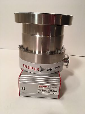 Pfeiffer PM P03 115 Turbomolecular Pump TMU 262 X with TC100 Excellent Condition