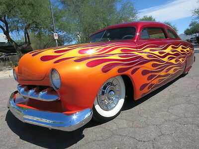 1951 Mercury Other Coupe 4.5inch Chop Custom Flames Air Ride Award Winner Hot Rod 1950 1949 1951 merc