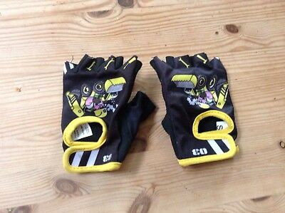 "Boys Biking Gloves ""Builder"" 3-6 Yrs"