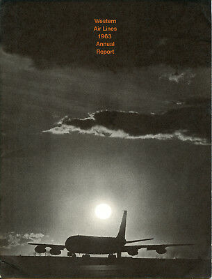 Western Airlines 1963 Annual Report