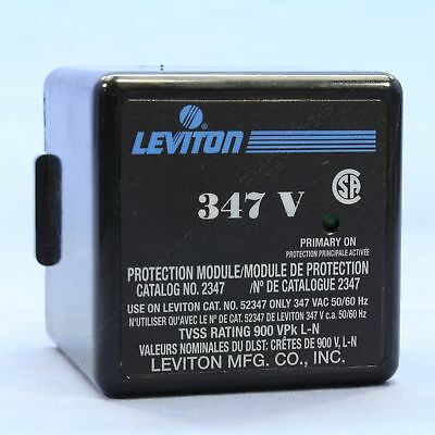 New Leviton Transient Voltage Surge Suppressor Module for 52347-M3 Panel 2347