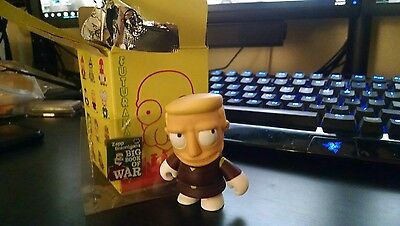 "NEW ZAPP BRANNIGAN FUTURAMA KIDROBOT 3"" W/BOOK ~Series 1"