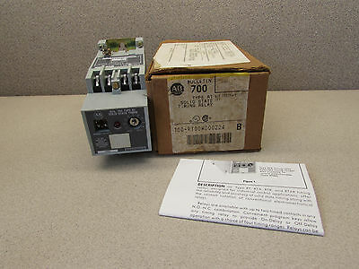 Allen Bradley 700-Rt00W000Z24 Solid State Timing Relay