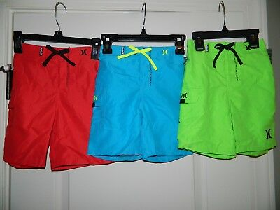 Boy's Hurley Swim Trunks Shorts Pick Your Size Color 3T or 4T-NWT