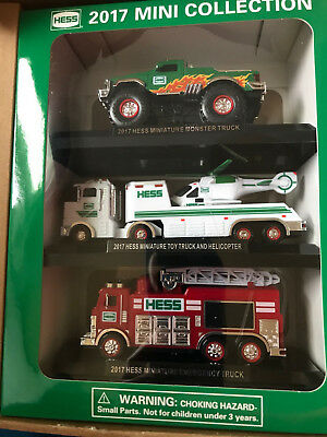 Hess truck 2017 mini collection