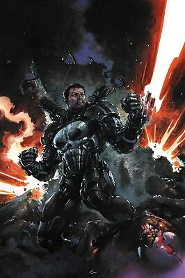 Preorder PUNISHER #218 Clayton Crain Cover Marvel Legacy Comics NM 2017