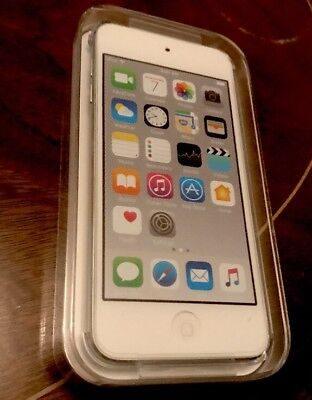 APPLE MKH42BT/A iPod touch 16GB 6th Generation Silver 8MP Camera Brand New
