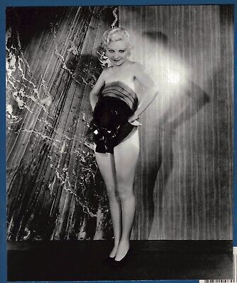 Vintage Original Partially Nude Jean Harlow Look-a-Like Alfred Cheney Johnston