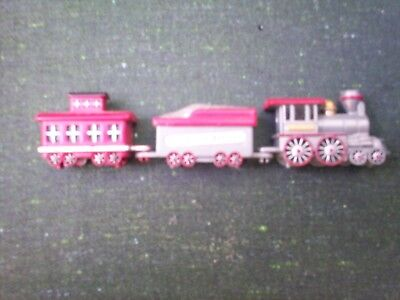 LIONELVILLE EXPRESS 3-car Train for Village/Town Hall Clock Magnetized