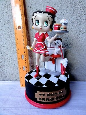 """Betty Boop  """" Blue Plate Special - 1950's """" -  Must For Any Collection"""