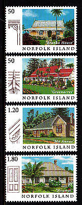 Norfolk Island 2005 Old Island Houses MNH