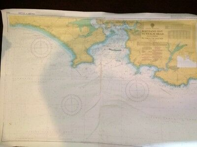 Admiralty Chart No.1900 UK - .WHITSAND BAY TO YEALM HEAD AND PLYMOUTH SOUND.