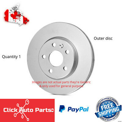 Disc Brake Rotor-Top Quality Front Transit 8-980163 fits 00-06 Hyundai Accent