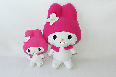 "Sanrio My Melody Pink Plush Stuffed Doll Mini Toy K01403C 6.5"" 10.5"" Fiesta LOT"