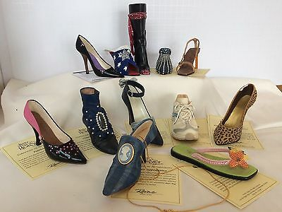 RAINE Just The Right Shoe Lot of 12 COA Boxes MINT