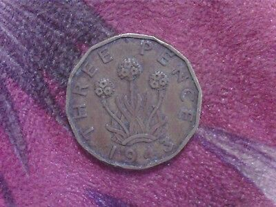 Great   Britain    Threepence   1943  Mm