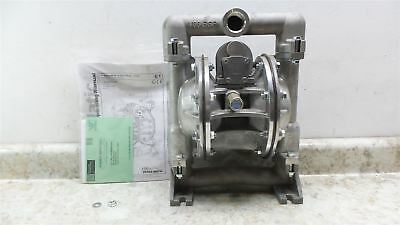 Versa-Matic E1AA2R229C-ATEX 125 PSI 49 GPM Air Operated Double Diaphragm Pump