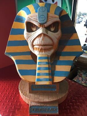 NECA Iron Maiden POWERSLAVE LifeSize Bust Limited Edition 200 of 750 SOLD OUT!