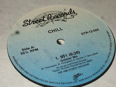 Chill  ‎– 911      1986    FUNK / DISCO...NEAR MINT!!