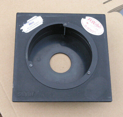 genuine Sinar F & P  lens board panel with recessed copal 0  modified
