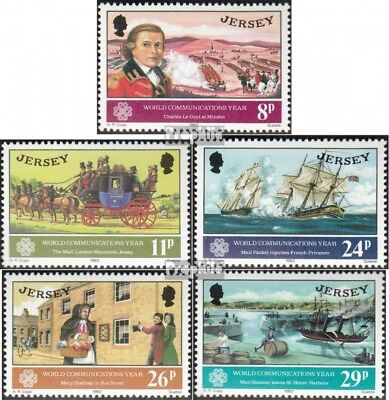 united kingdom-Jersey 303-307 (complete issue) unmounted mint / never hinged 198