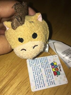 New Disney Tsum Tsum BULLSEYE Horse Mini Plush From Toy Story Collectible