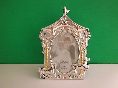 Lenox BABY JEWEL Collection Carousel Frame New-in-Box (box is in poor condition)