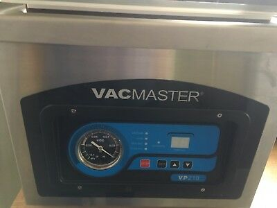 VacMaster VP210 Tabletop Chamber Vacuum Sealer Packaging Machine Food