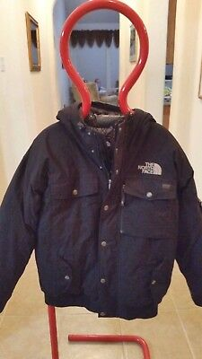 Mens The North Face Black 100% Goose Down Insulated Winter Ski Jacket Coat L