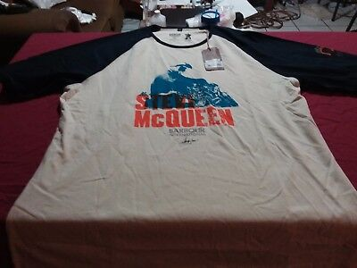 STEVE McQueen BARBOUR INTERNATIONAL SHIRT SIZE 3XL