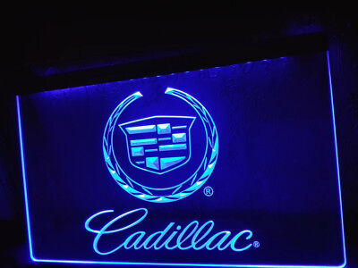 Cadillac Fan Luxery Racing Motor Cars Neon Light Sign Plate Club LED Advertise