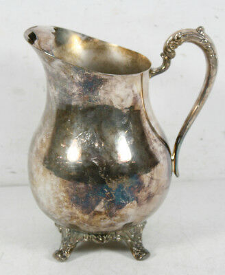 Vintage FB Rogers Co Silverplated Footed Water Pitcher