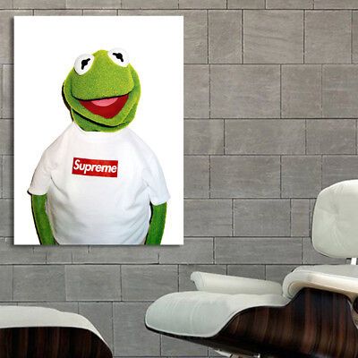 Poster Wall Mural Kermit Supreme 40x54 inch (100x135 cm) on 8mil Paper