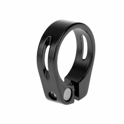 Bike Seat Post Clamp Seat Quick Release 31.8mm apply to 27.2mm Bicycle Seatpost