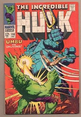 Incredible Hulk #110 - 9.2 Near Mint - Original Owner Collection