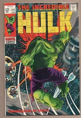 Incredible Hulk #111 - 9.2 Near Mint - Original Owner Collection