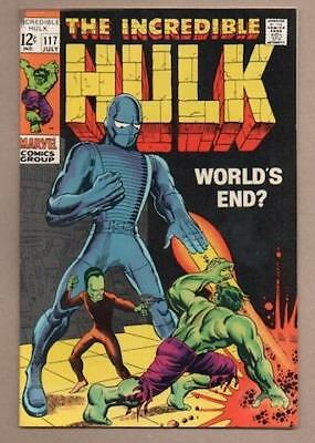 Incredible Hulk #117 -9.0 Very Fine/Near Mint - Original Owner Collection