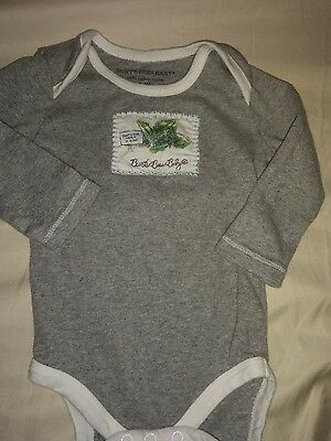 Burt's Bees Baby sz. 3/6 month long sleeved snap shirt. Cute, great shape