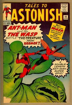 Tales to Astonish #44 - 1st Appearance of Wasp - 5.0 Very Good/Fine Gorgeous
