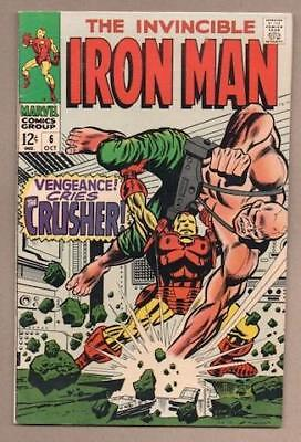 Iron Man #6 - 5.0 Very Good/Fine - Original Owner Collection