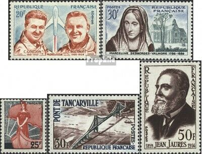 France 1257,1258,1259,1260,1261 (complete issue) unmounted mint / never hinged 1